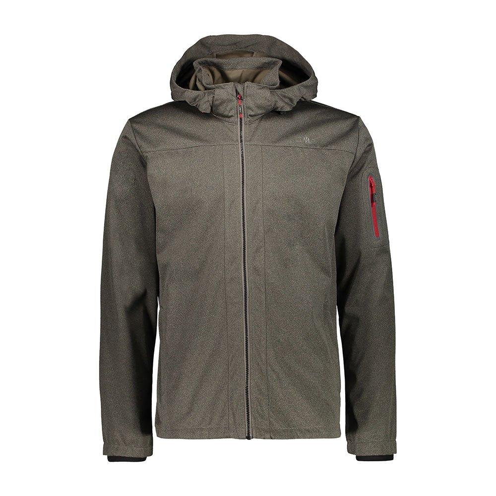 Cmp Zip Hood Jacket XXL Wood Melange