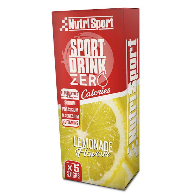 Nutrisport Hydra Zero 3.5gr X 5 Sticks Lemon