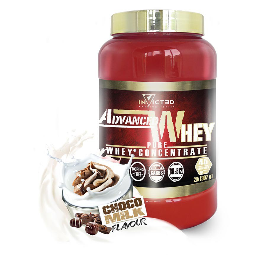 Nutrisport Invicted Advanced Whey 907gr Choco Milk
