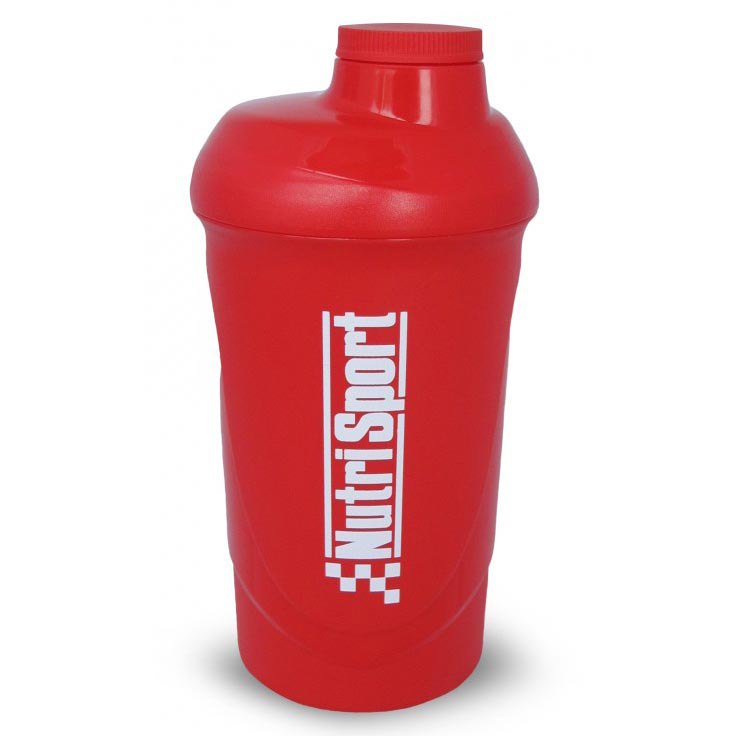 Nutrisport Mixer 600ml One Size Red
