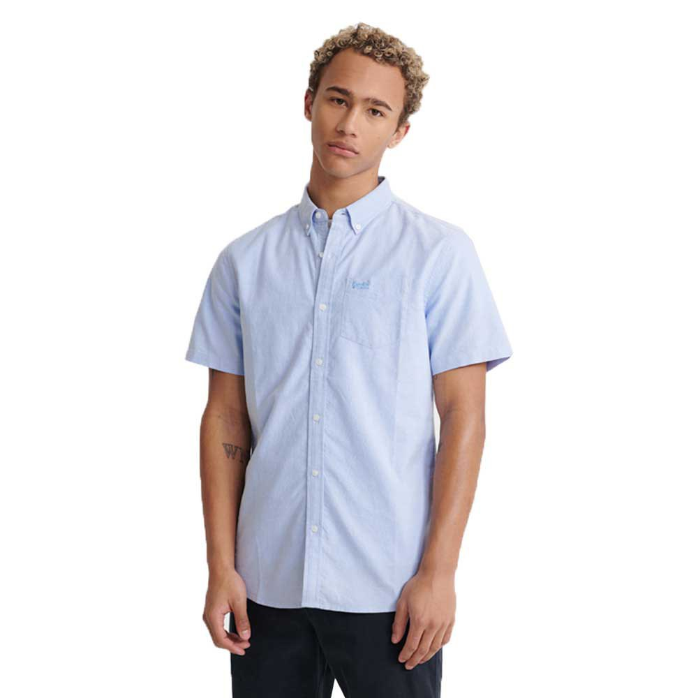 Superdry Classic University Oxford S Classic Blue