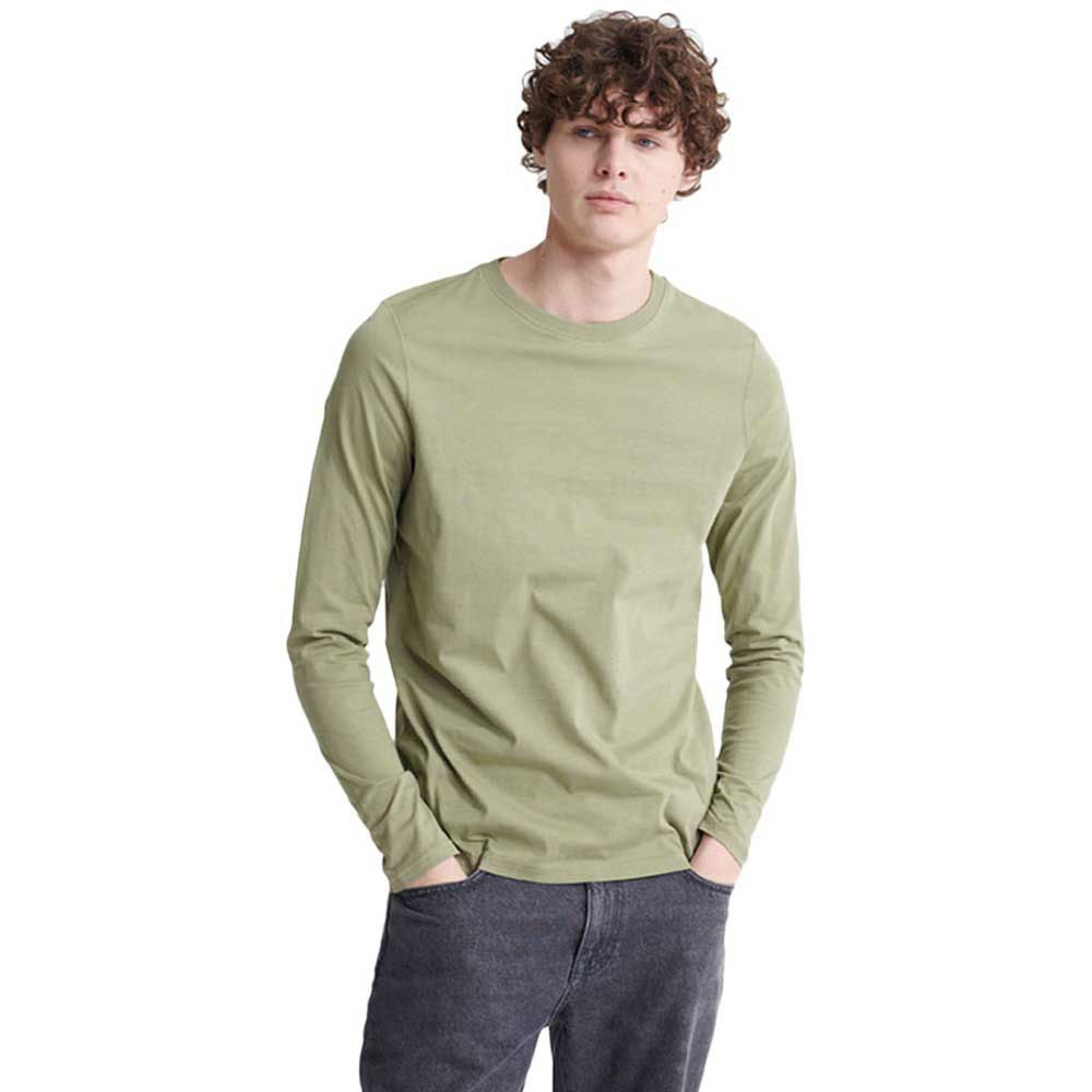 Superdry The Standard Label S Oil Green