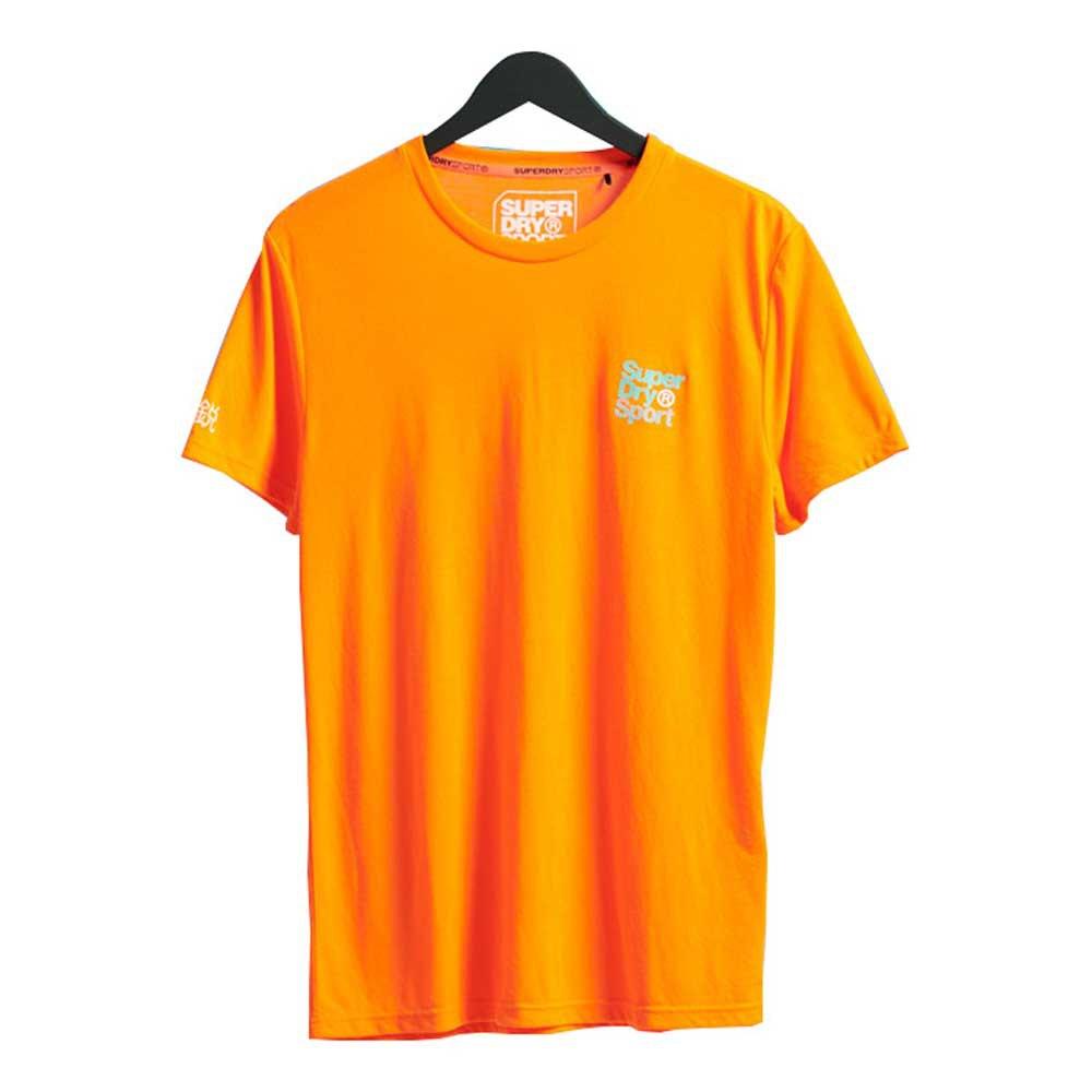 Superdry Core Sport Small Logo XXL Bright Havana Orange