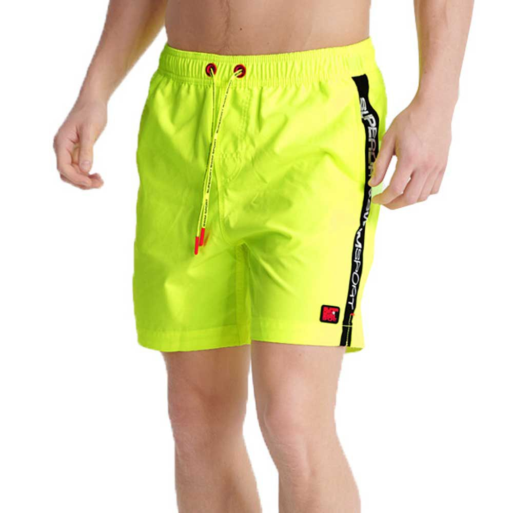 Superdry Swimsport L Safety Yellow