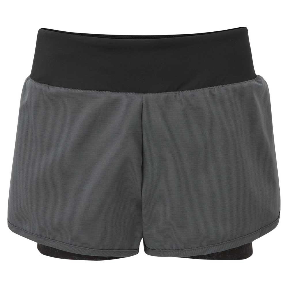 Dare2b Short Outrun 16 Ebony Grey / Black / Aluminium Grey