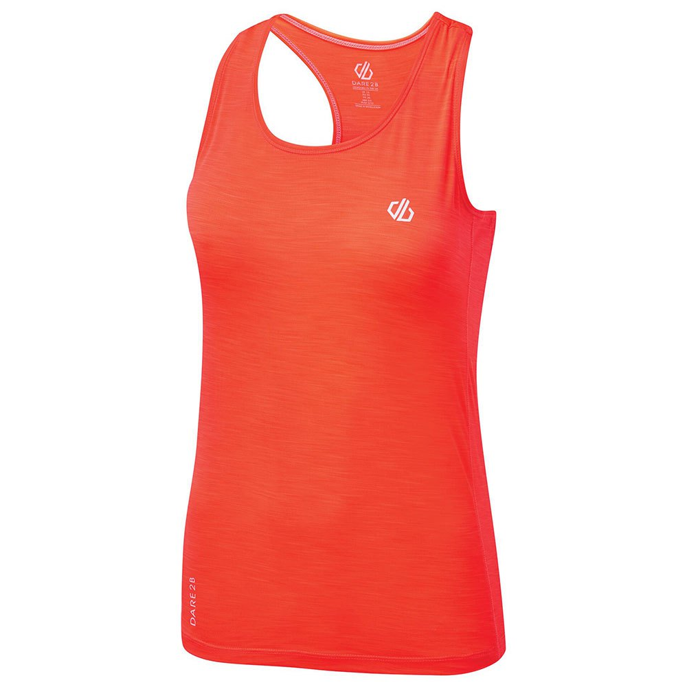 Dare2b T-shirt Sans Manches Modernize Ii 10 Fiery Coral