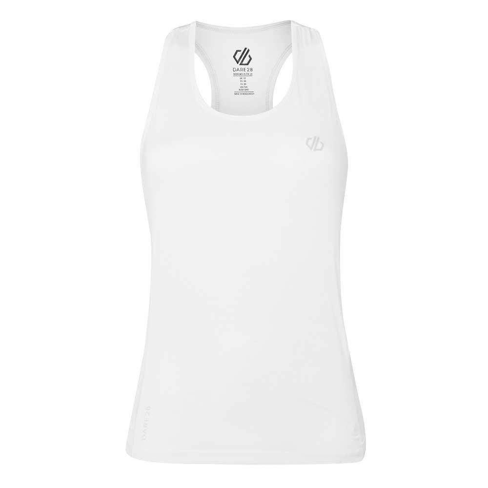 Dare2b T-shirt Sans Manches Modernize Ii 16 White