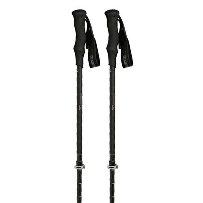 Komperdell C3 Carbon 105-140 cm Black / Silver