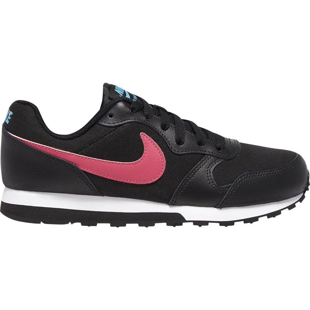 Nike Md Runner 2 Gs EU 38 1/2 Black / Watermelon / Blue Fury / Purple Nebula