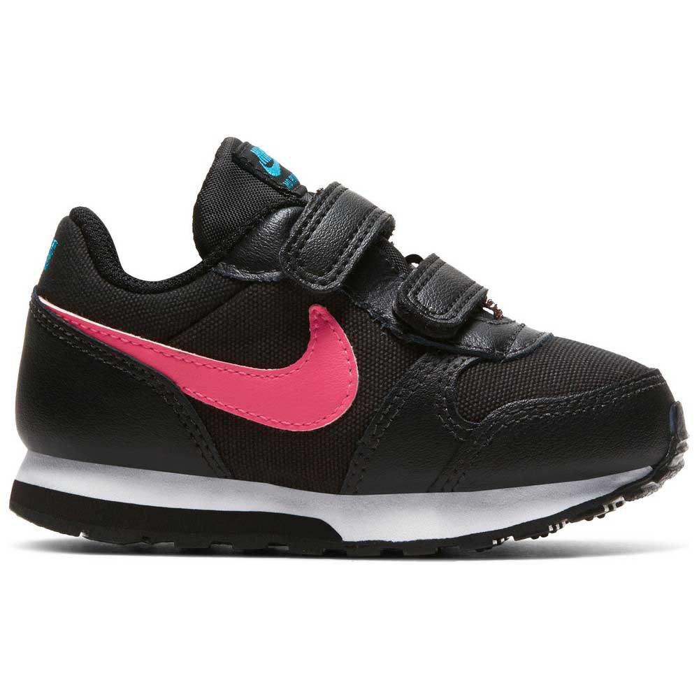 Nike Md Runner 2 Tdv EU 26 Black / Watermelon / Blue Fury / Purple Nebula