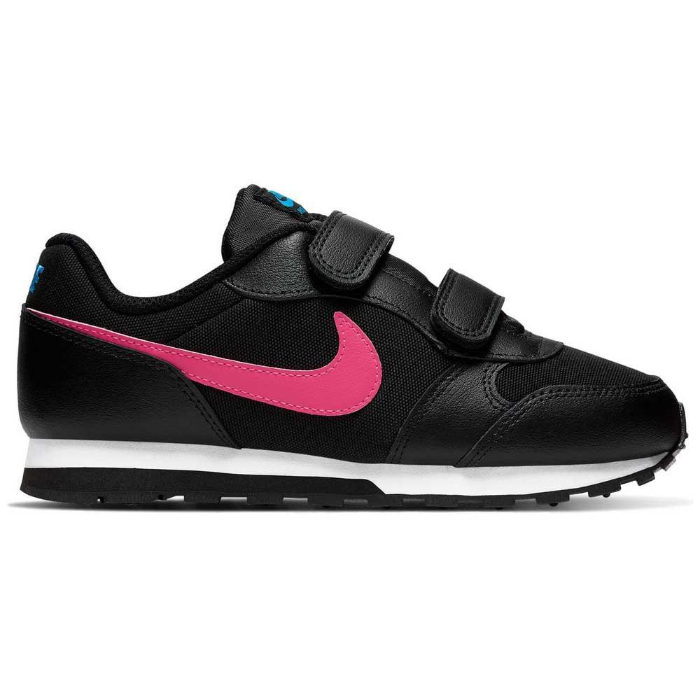 Nike Md Runner 2 Psv EU 32 Black / Watermelon / Blue Fury / Purple Nebula