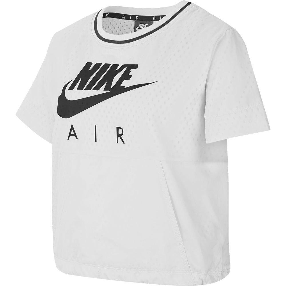 Nike T-shirt Manche Courte Sportswear Air S White / Black 1