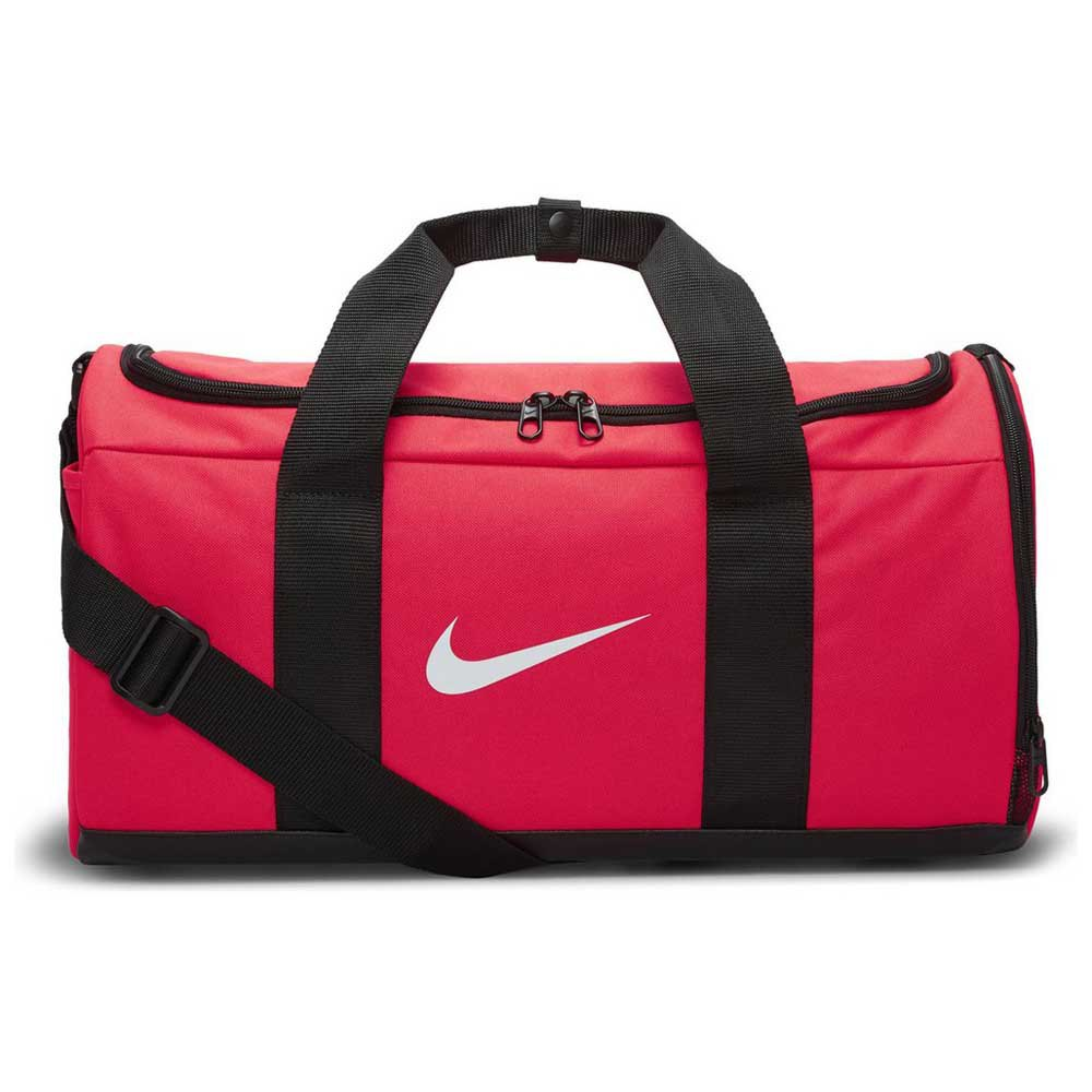 Nike Team Duffle One Size Laser Crimson / Black / White