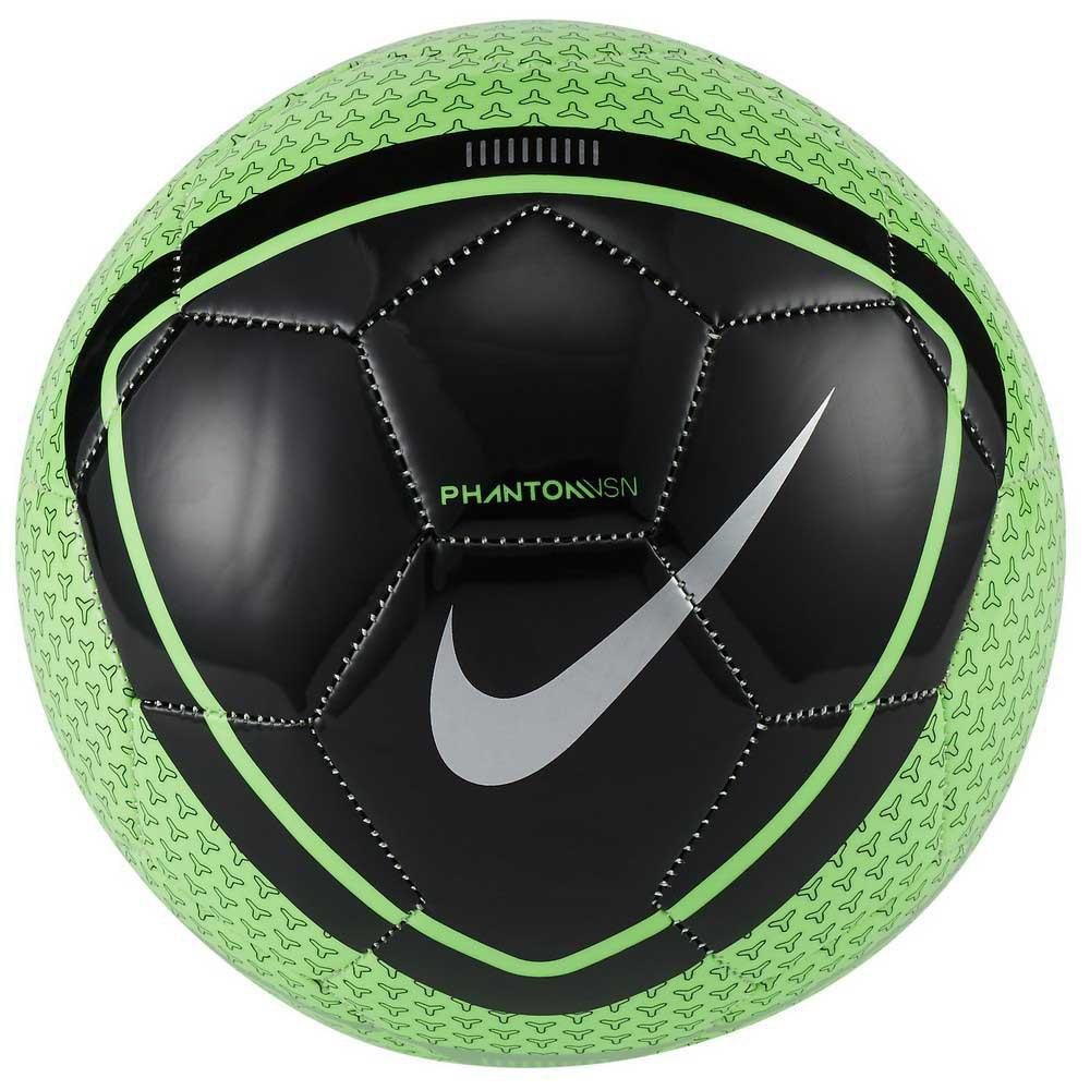 Nike Phantom Vision Football Ball 3 Green Strike / Black / Silver