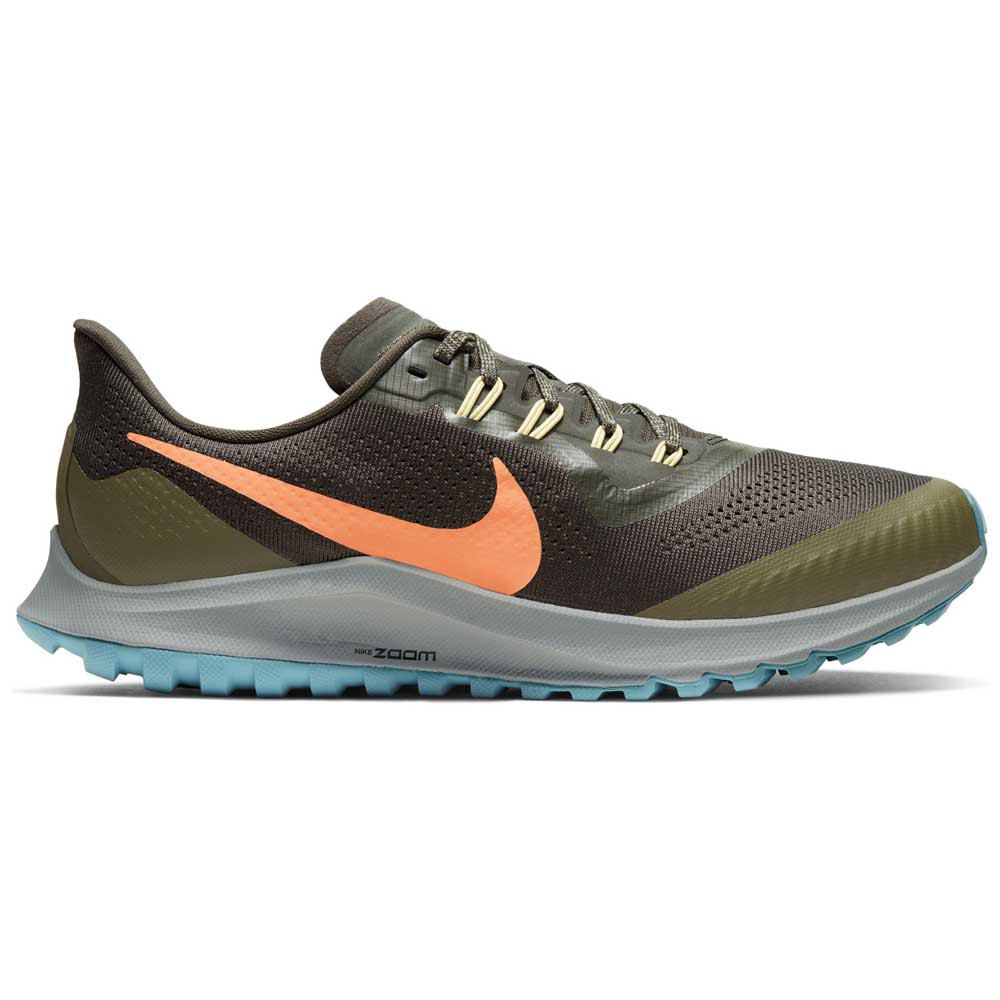 Nike Air Zoom Pegasus 36 Trail EU 40 1/2 Sequoia / Orange Trance / Medium Olive