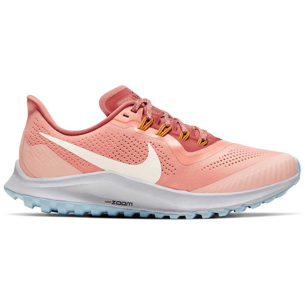Nike Air Zoom Pegasus 36 Trail EU 42 1/2 Pink Quartz / Pale Ivory / Canyon Pink