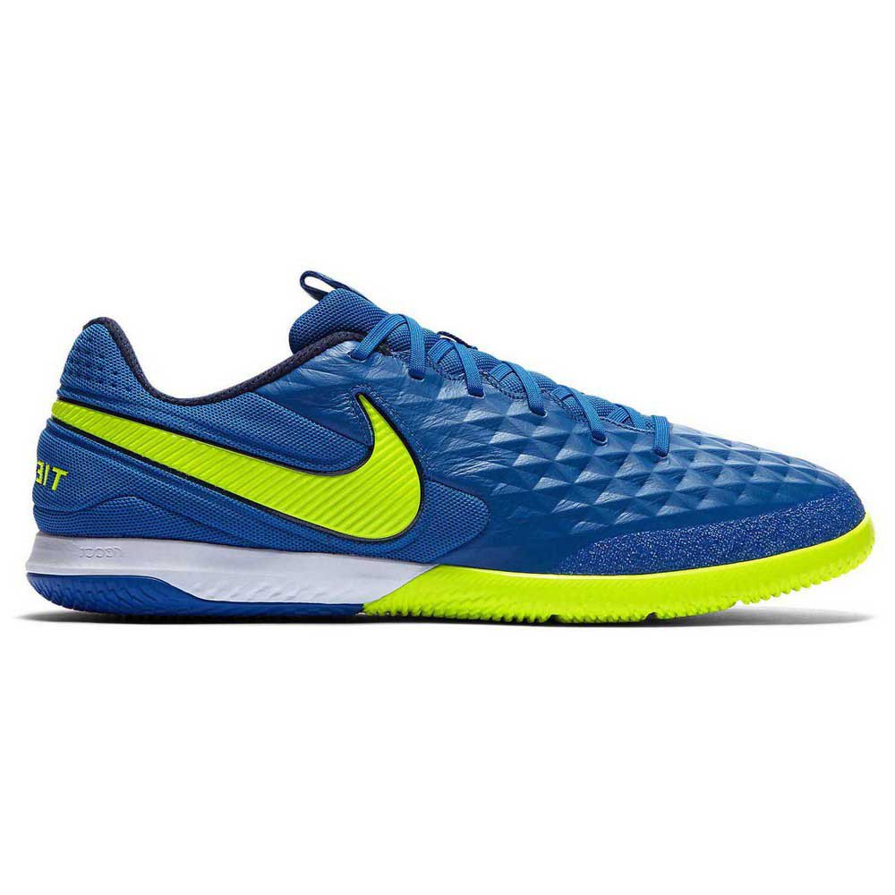 Nike Tiempo React Legend Viii Pro Ic Indoor Football Shoes EU 42 Soar / Volt / Midnight Navy