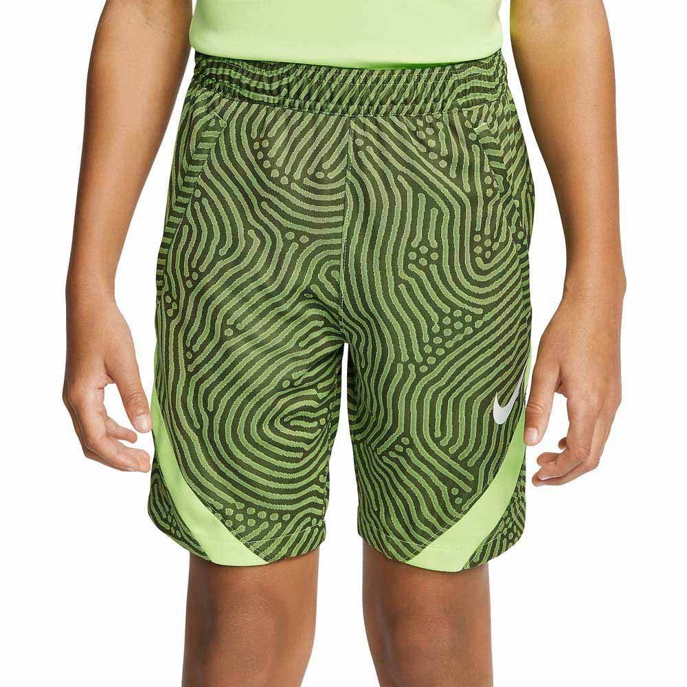 Nike Dri Fit Strike XS Cargo Khaki / Ghost Green / White
