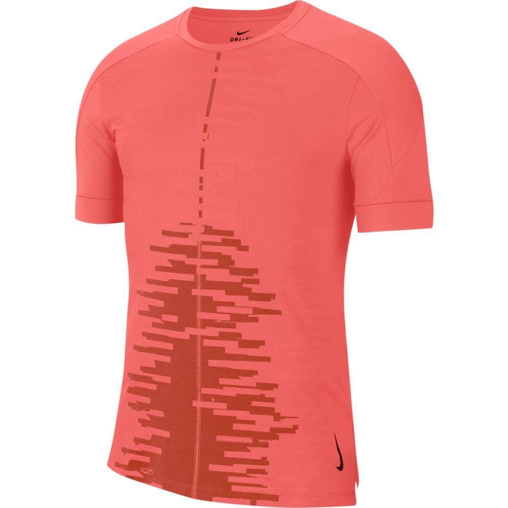 Nike Dri Fit Yoga S Magic Ember / Rust Factor / Black