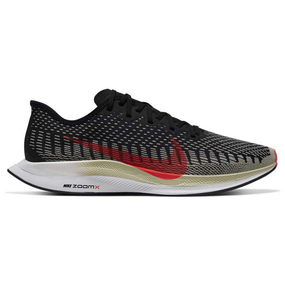 Nike Zoom Pegasus Turbo 2 EU 43 Black / Laser Crimson / Olive Aura / White