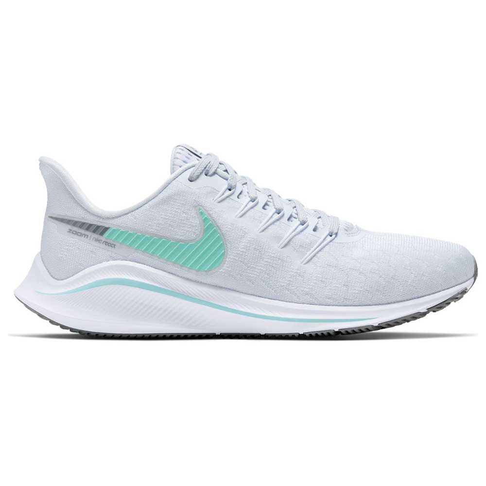 Nike Air Zoom Vomero 14 EU 38 Football Grey / Aurora Green / White