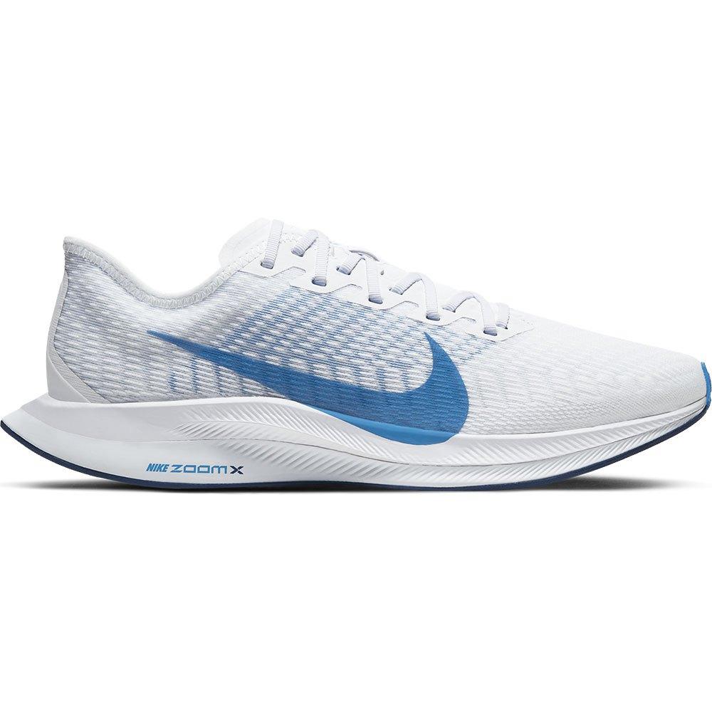 Nike Zoom Pegasus Turbo 2 EU 41 White / Photo Blue / Football Grey