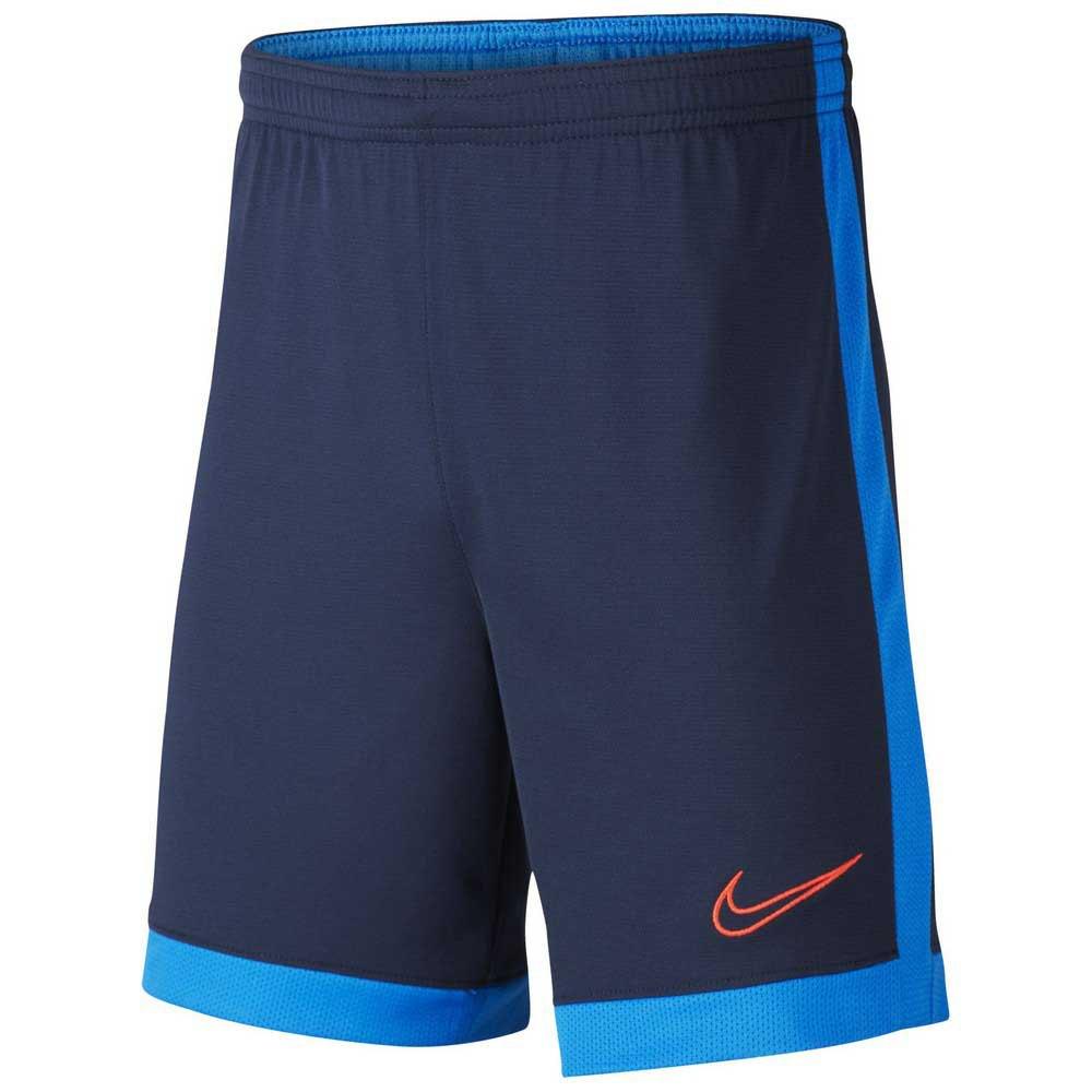 Nike Short Dri Fit Academy XS Obsidian / Soar / Laser Crimson