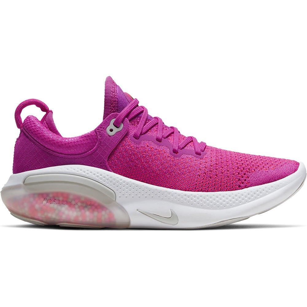 Nike Joyride Run Flyknit EU 41 Fire Pink / Vast Grey / Laser Crimson / White