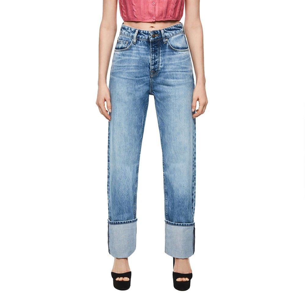Pepe Jeans Dua Pantalones Ropa Mujer Azul Ebay