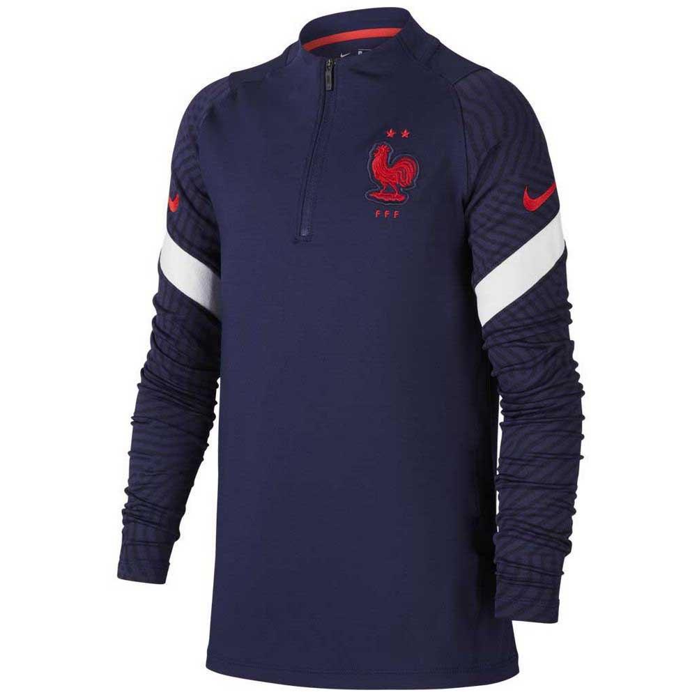 Nike France Strike Drill 2020 Junior M Blackened Blue / White / University Red