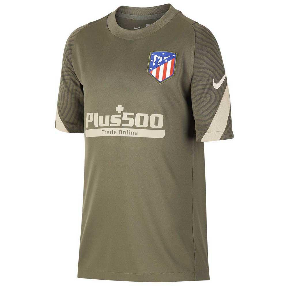 Nike Atletico Madrid Breathe Strike 20/21 Junior S Cargo Khaki / Cargo Khaki / Khaki / Khaki