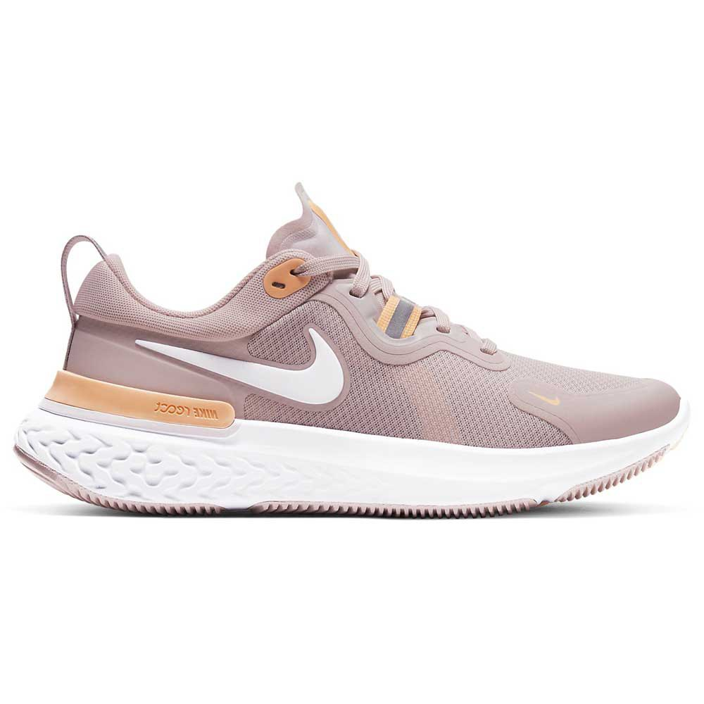 Nike React Miler EU 41 Champagne / White / Orange Pulse / Barely Rose