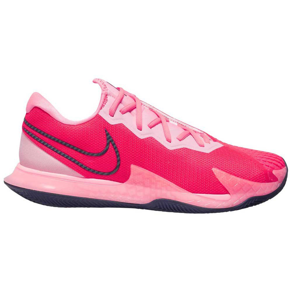 Nike Court Air Zoom Vapor Cage 4 Clay EU 38 1/2 Laser Crimson / Blackened Blue / Pink