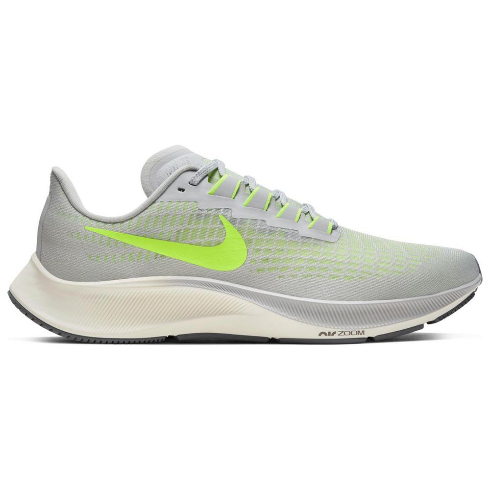 Nike Air Zoom Pegasus 37 EU 43 Grey Fog / Volt / Smoke Grey / Sail