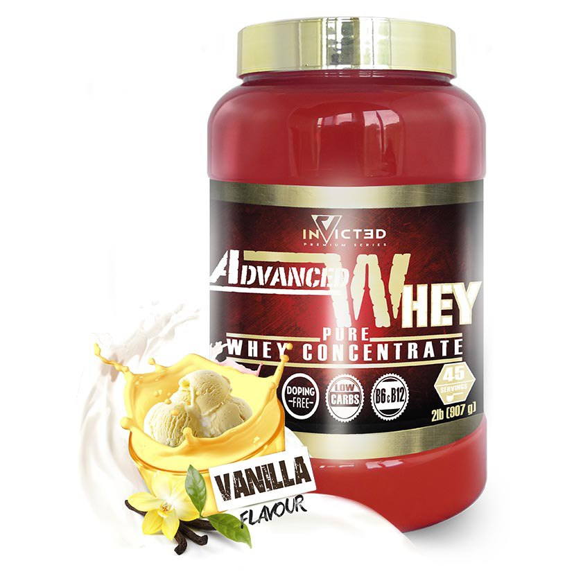 Nutrisport Invicted Advanced Whey 907gr Vainilla