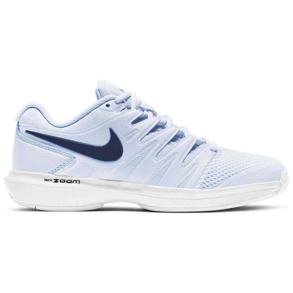 Nike Court Air Zoom Prestige Hc EU 38 1/2 Football Grey / Midnight Navy / White