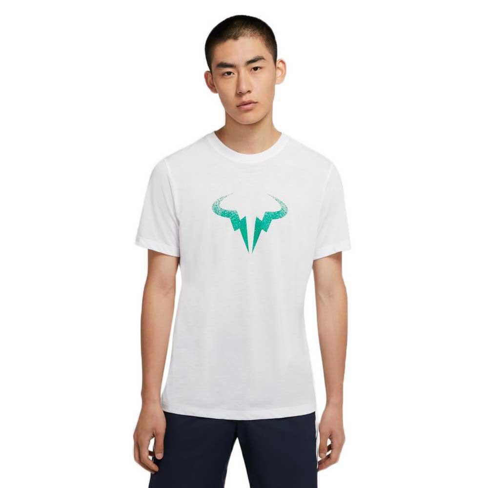 Nike Court Dri Fit Rafa S White / Lucid Green