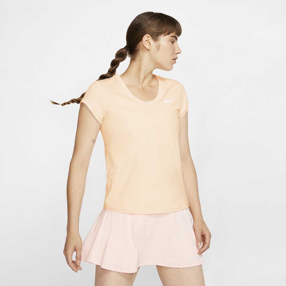 Nike Court Dri Fit M Guava Ice / White