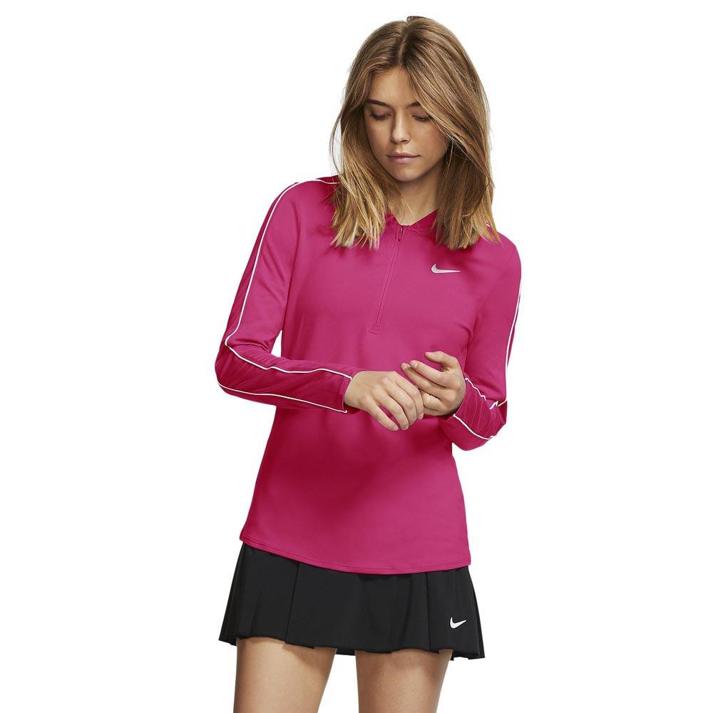 Nike Court Dry L Vivid Pink / White / White / White
