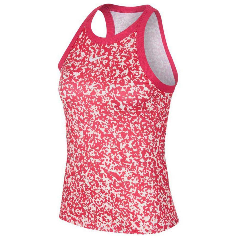 Nike Court Dri Fit Printed L Vivid Pink / White