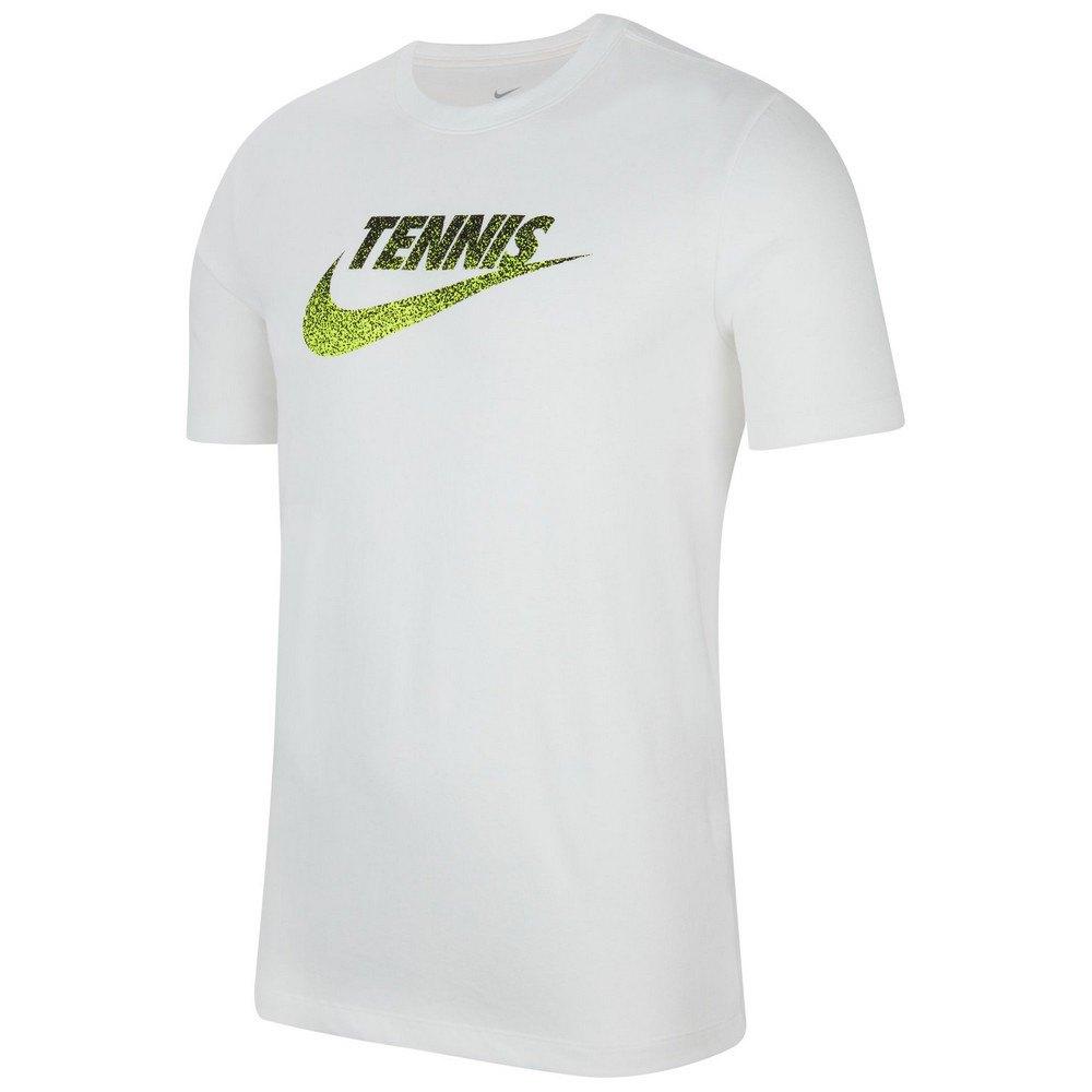 Nike Court Graphic S White / Black / Volt