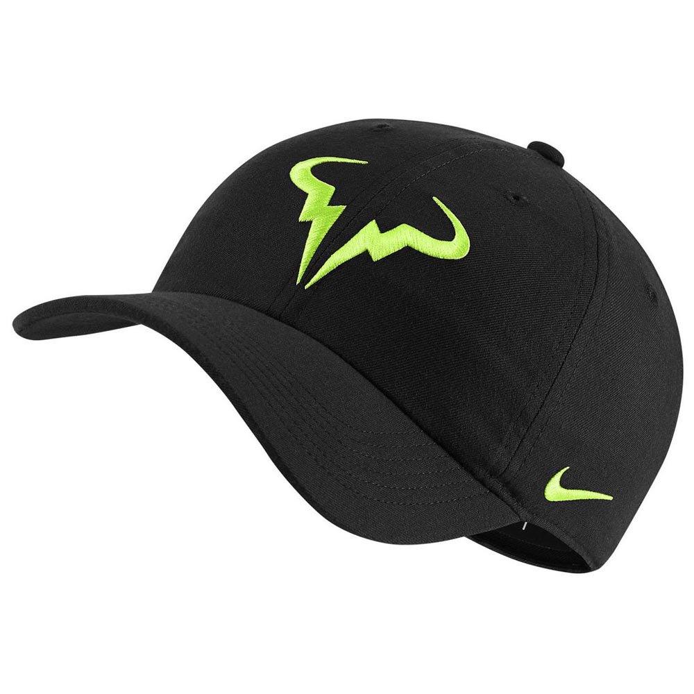 Nike Court Aerobill Rafa Heritage 86 One Size Black / Volt