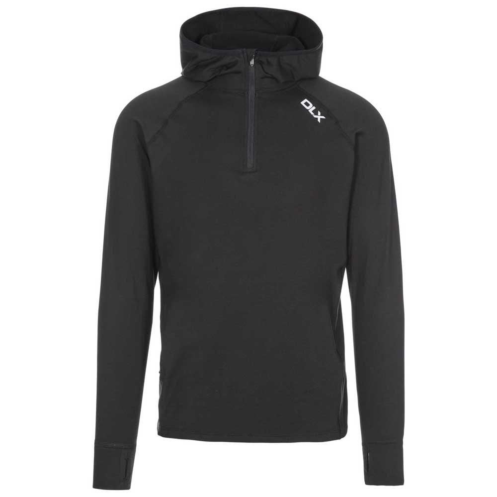 Trespass Robins T-shirt Manche Longue S Black