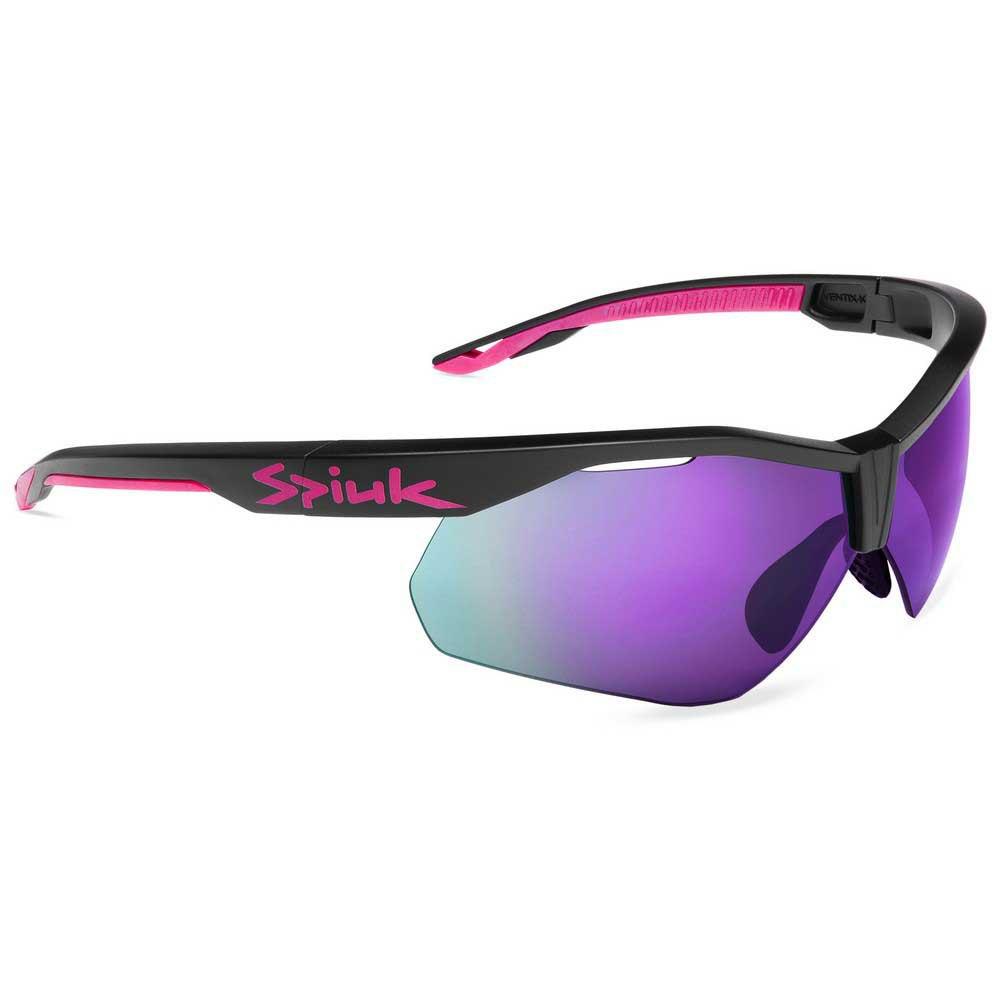 Spiuk Ventix-k Mirrored Violet Mirrored/CAT3 Black / Fuchsia