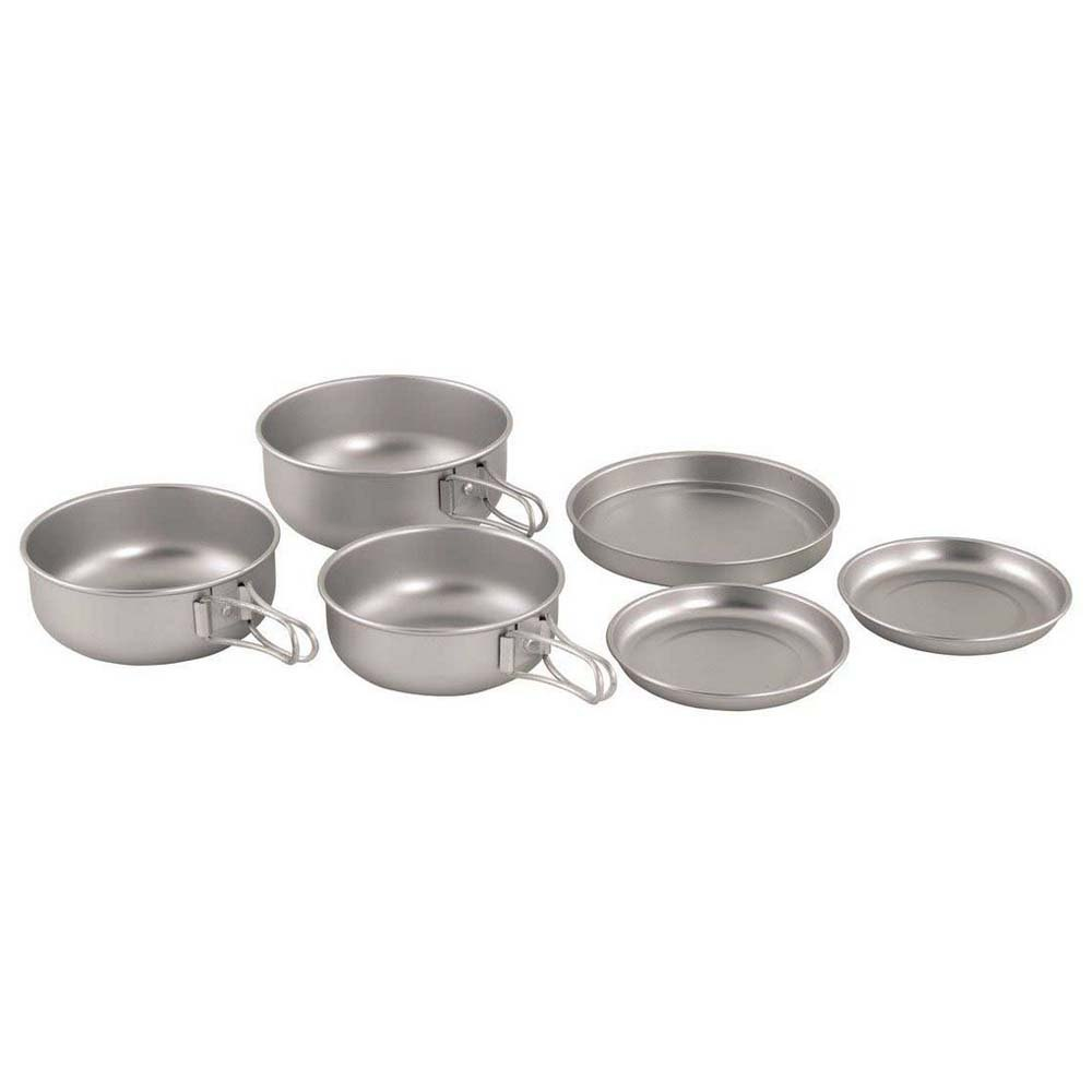 Easycamp Adventure Ultra Light Cook Set One Size Silver