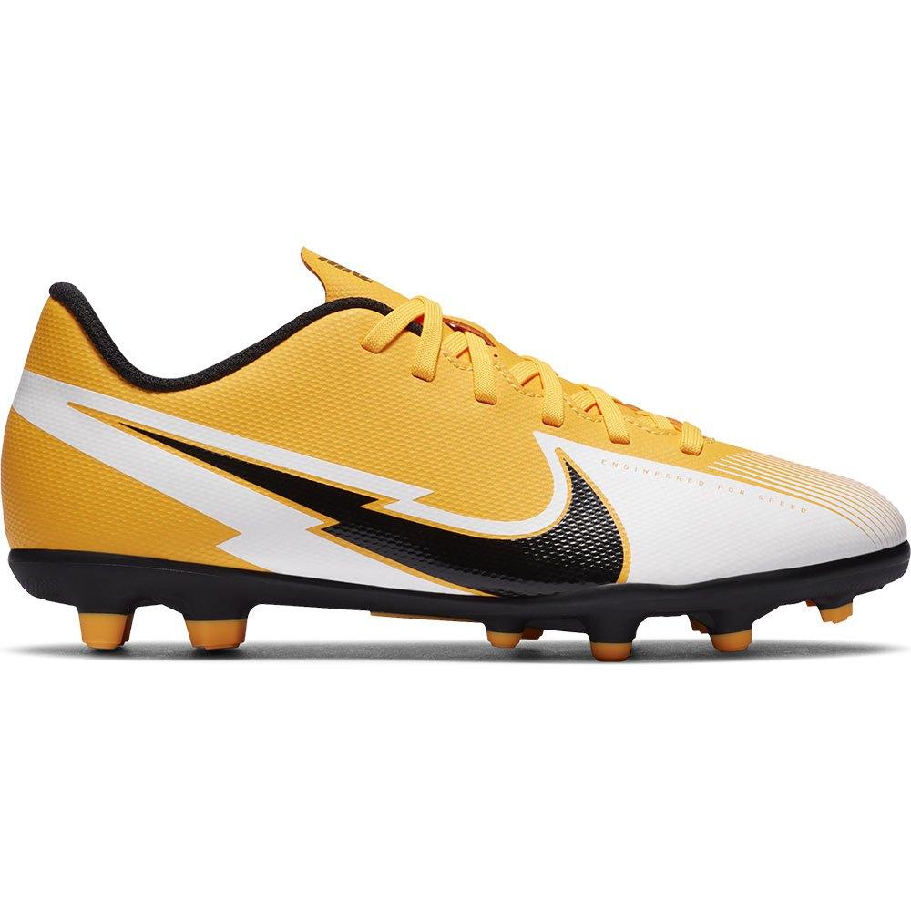 Nike Mercurial Vapor Xiii Club Fg/mg Football Boots EU 38 Laser Orange / Black / White