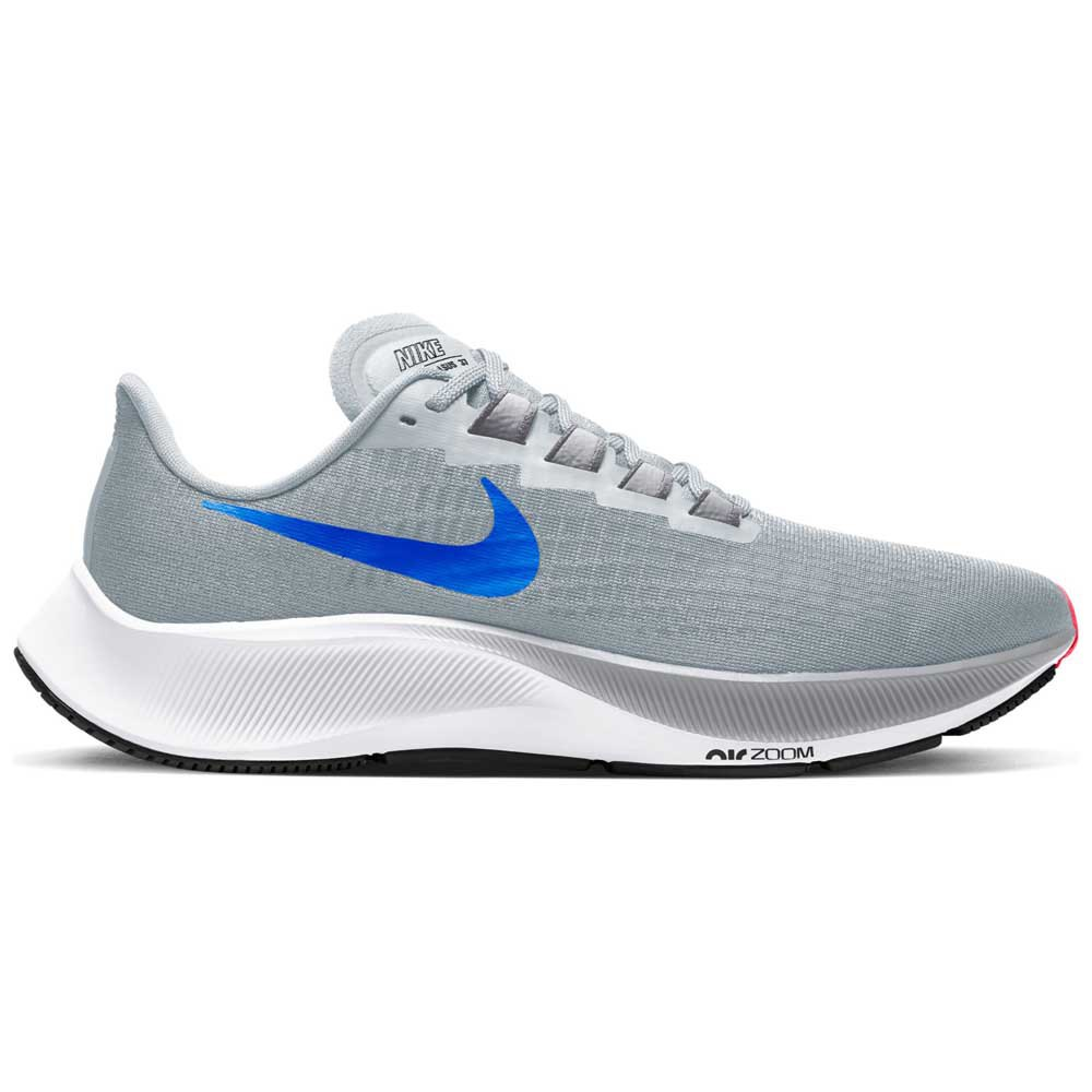 Nike Air Zoom Pegasus 37 EU 40 Pure Platinum / Racer Blue / Wolf Grey