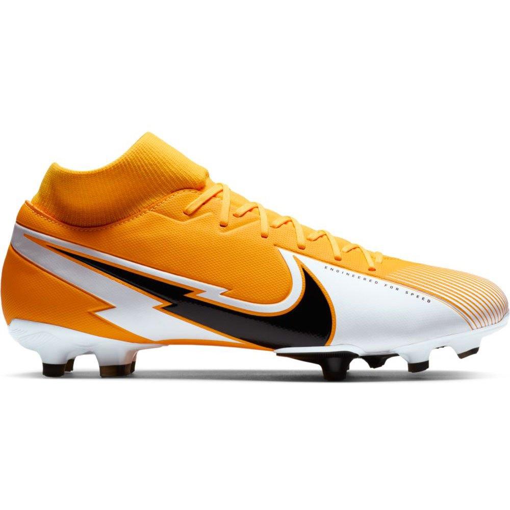 Nike Chaussures Football Mercurial Superfly Vii Academy Fg/mg EU 43 Laser Orange / Black / White