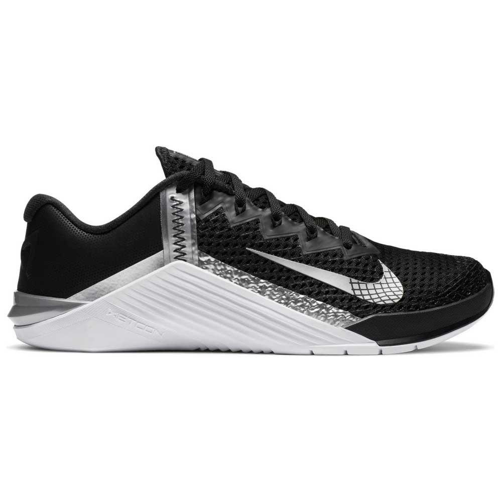 Nike Metcon 6 EU 41 Black / Metallic Silver