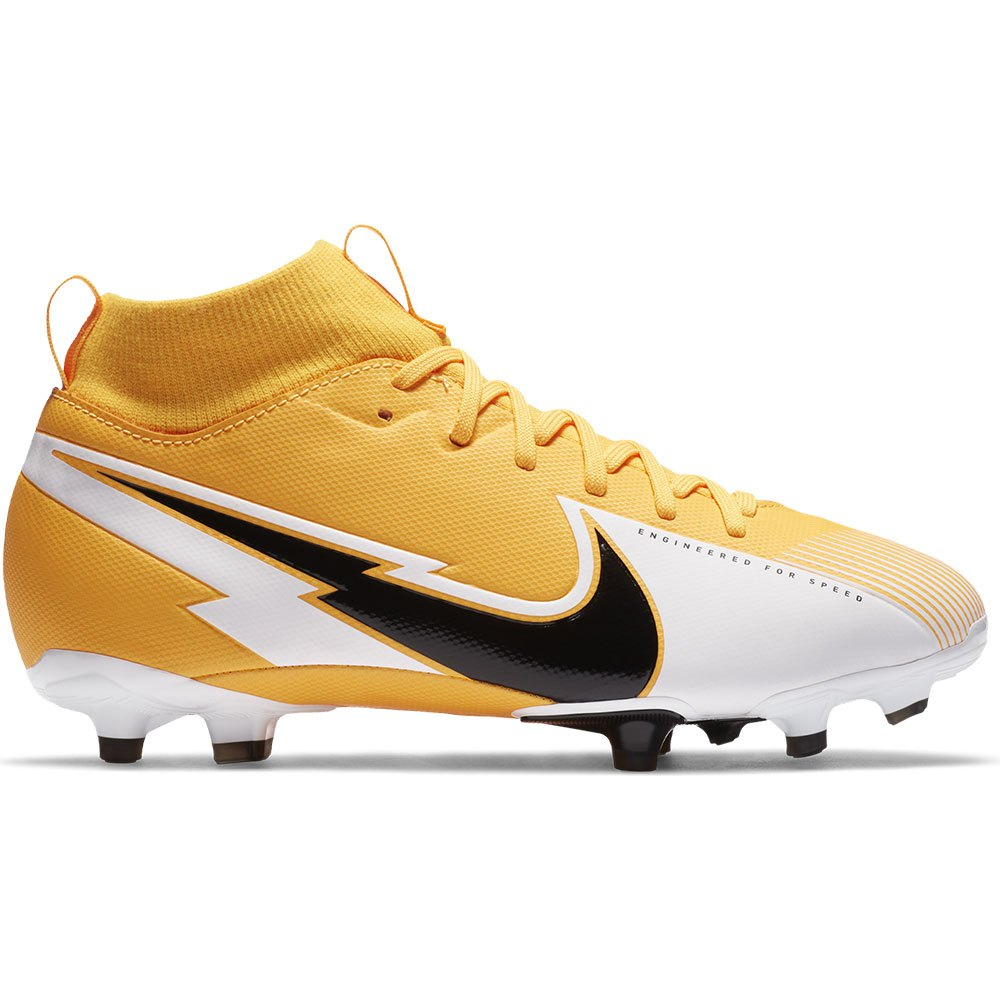 Nike Chaussures Football Mercurial Superfly Vii Academy Fg/mg EU 38 Laser Orange / Black / White 1